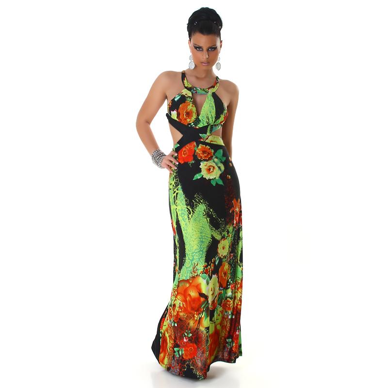 fdd1ed4fb97 Dámské letní dlouhé šaty