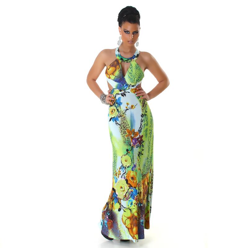 04db4296396 Dámské letní dlouhé šaty