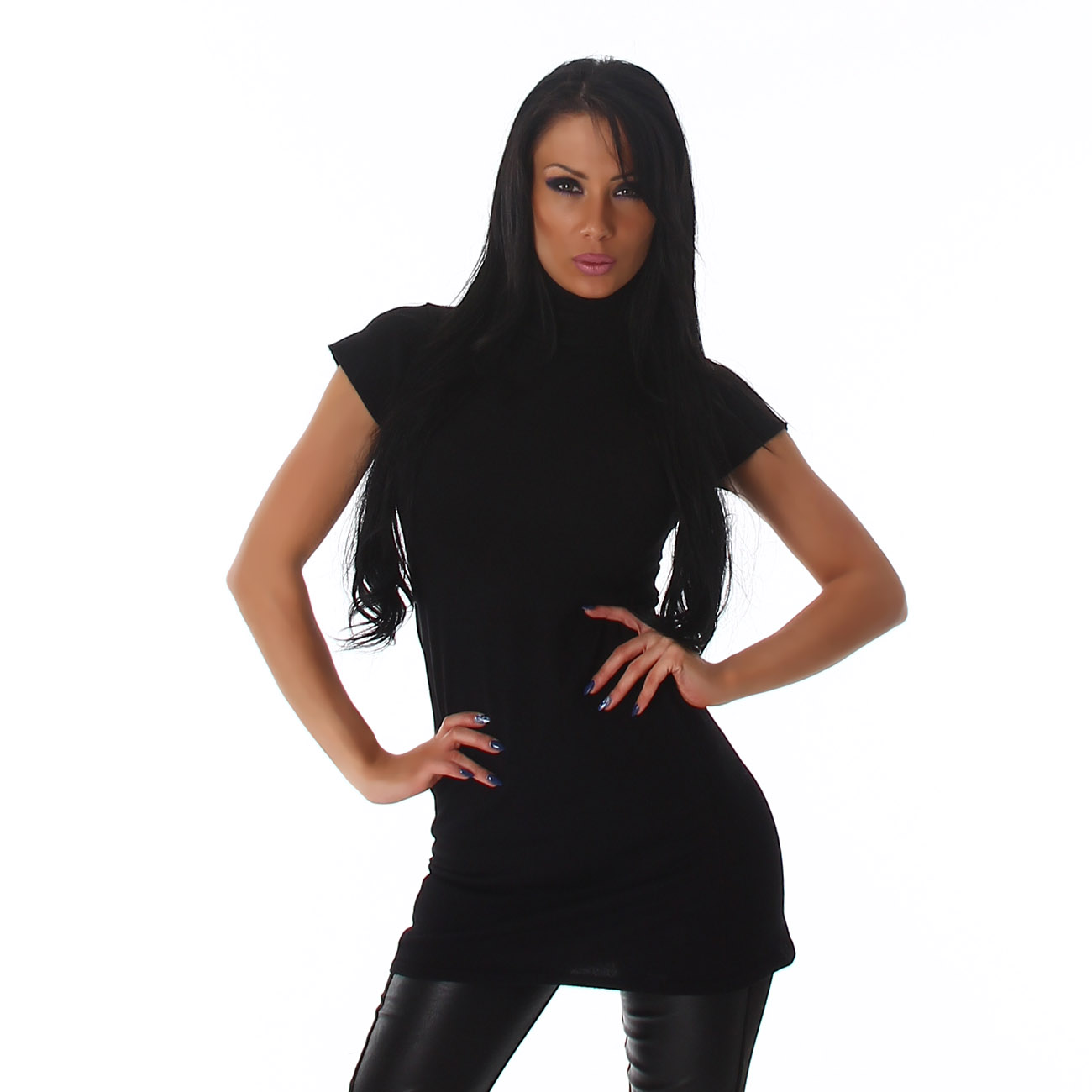 Dámské šaty s rolákem bf2c701d0a2