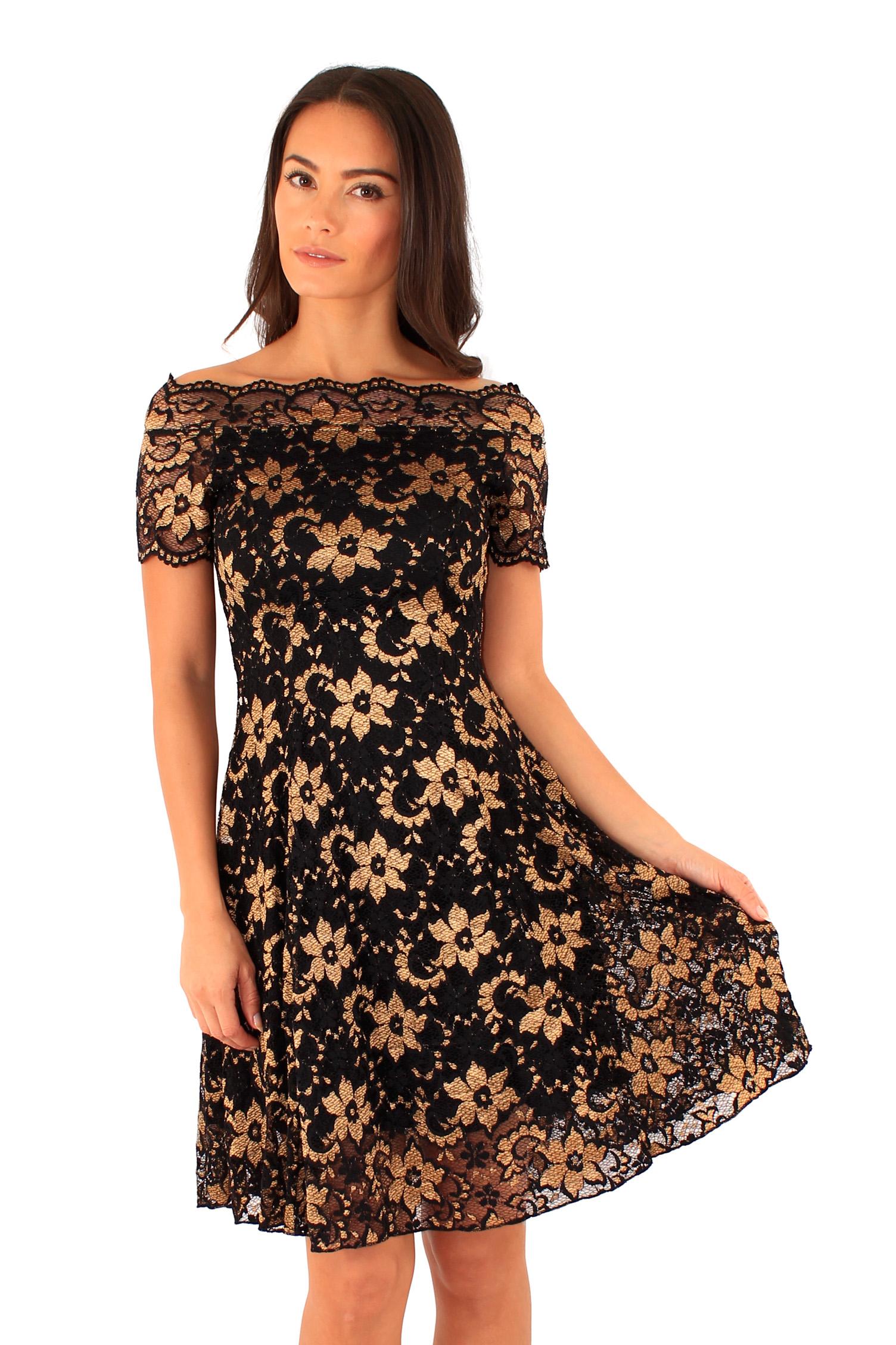 ed454e6794f Společenské krajkové šaty