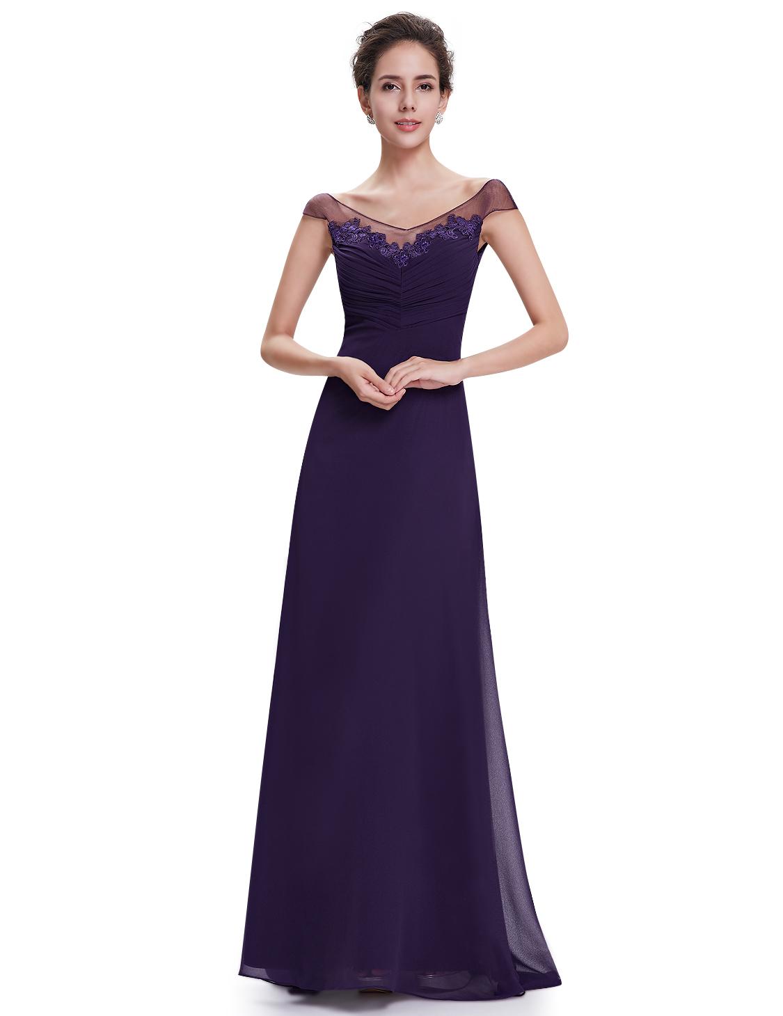 Plesové a společenské šaty Ever Pretty fialová 70e55e7e82