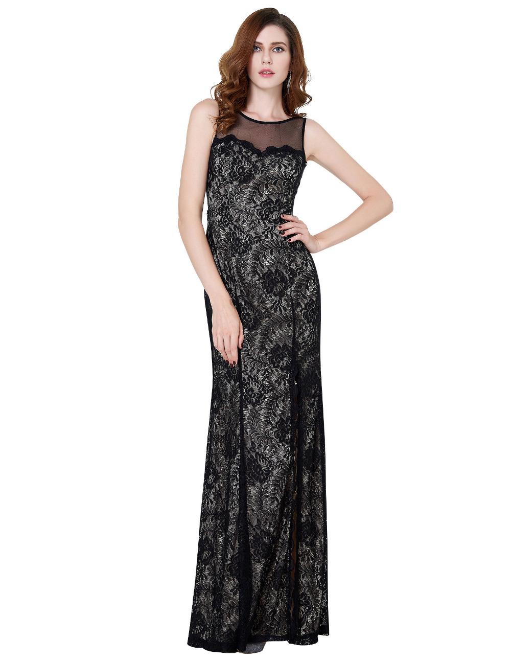 Společenské dlouhé krajkové šaty 122d3d063f