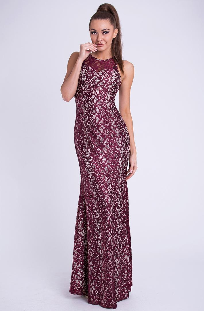 Dámské luxusní krajkové plesové a společenské šaty EVA   LOLA 654e8142c6