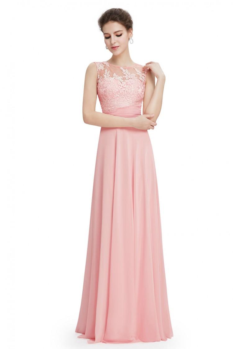 81440492a95 Elegantní dlouhé šaty s krajkou