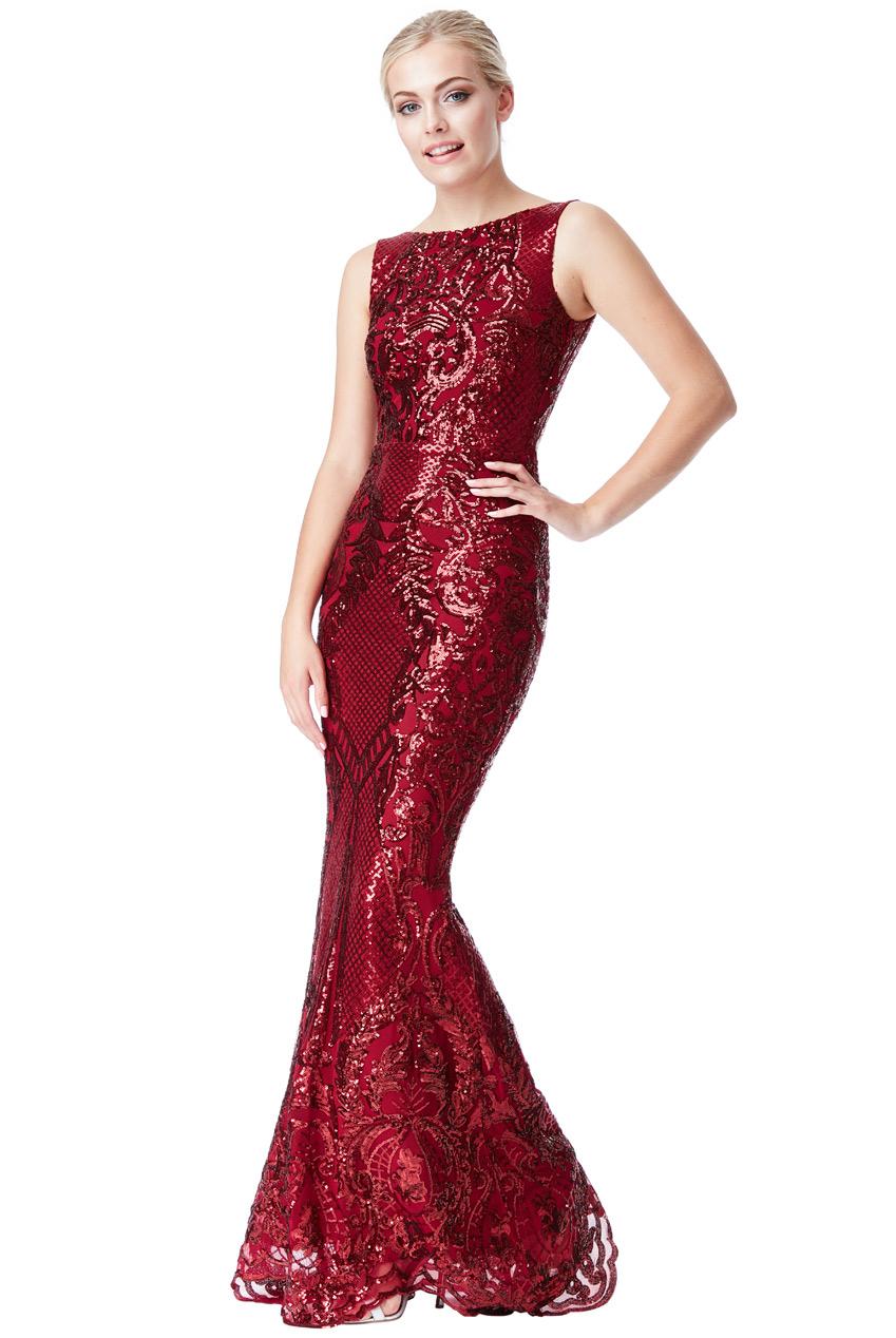 Luxusní večerní šaty GODDIVA 4ee71b7b4c