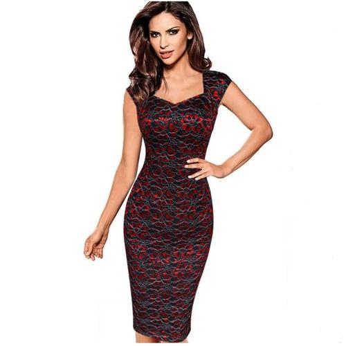 1da48ac673fe Elegantní pouzdrové šaty