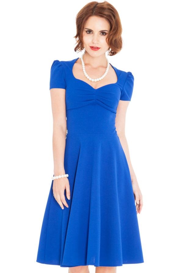 Dámské šaty s kolovou sukní c1f337de6ee
