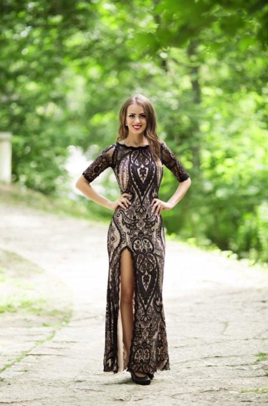 f86abf4df495 Společenské dlouhé šaty EMA černá