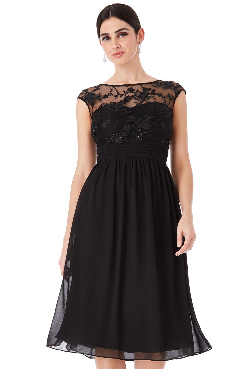 Společenské šaty krátké Zn. GODDIVA 324170769c