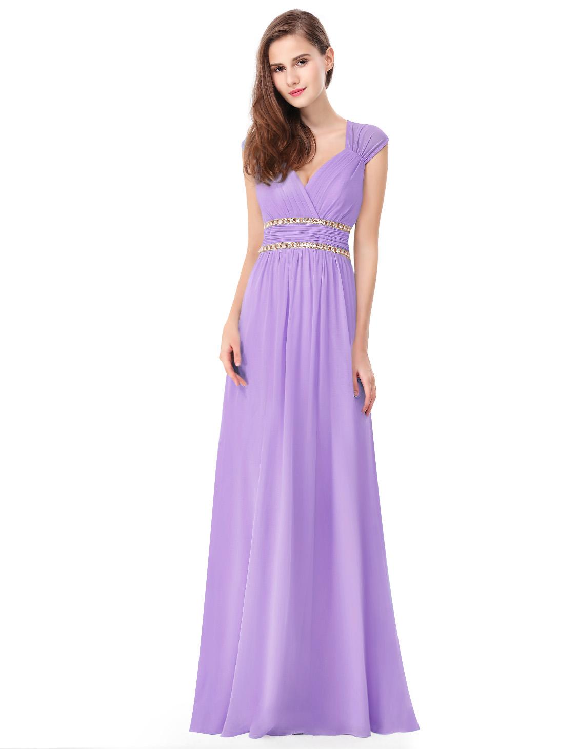 Ever Pretty plesové a společenské šaty fialová df62f809f8