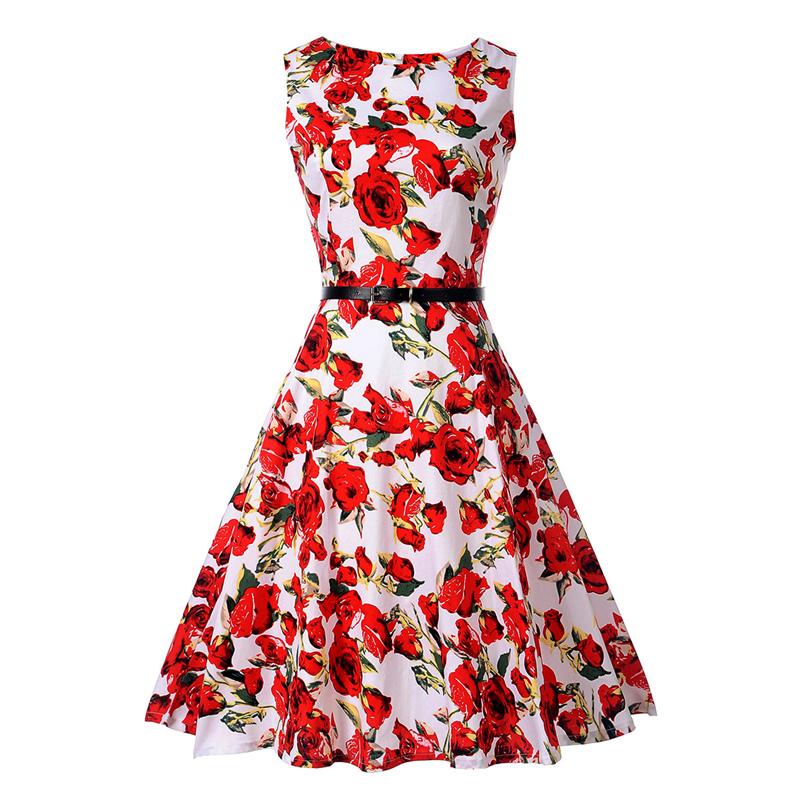 Dámské letní šaty ve stylu RETRO 59ff5c30a7