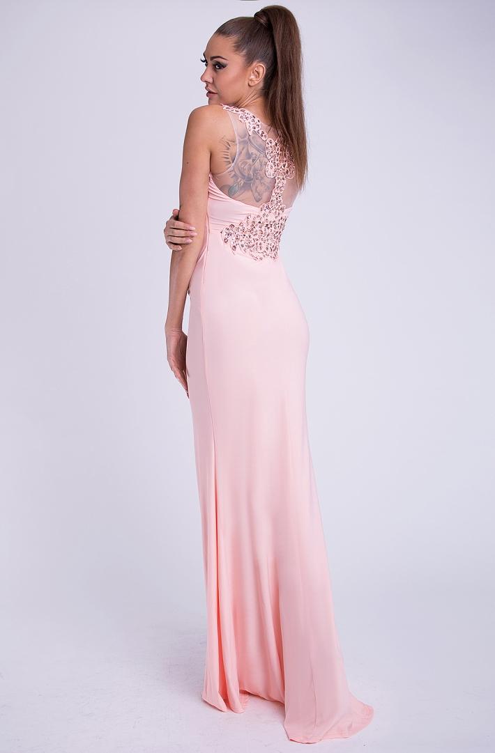 cbeda67a07a1 Dámské luxusní společenské šaty s korálky