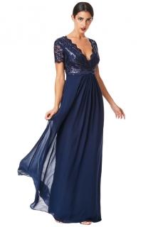 28a0722de9de Plesové a společenské šaty modrá empty