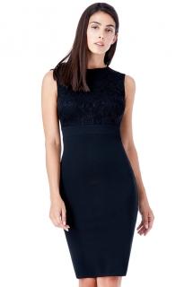 7881307f59be Dámské společenské krátké šaty černé empty