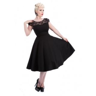 862d911071a Dámské večerní šaty v RETRO stylu černé empty